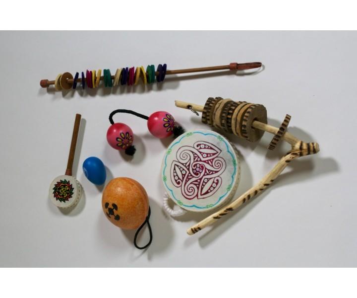 Small round rattlesnake set