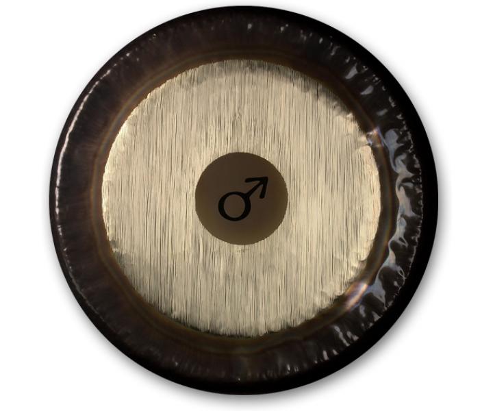 Planet gong Ø 81cm MARS