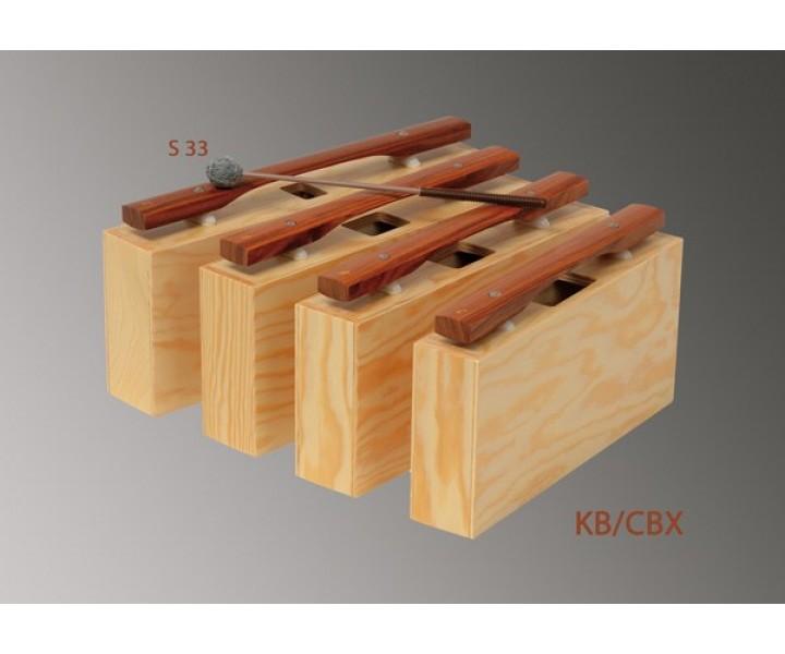 Bass resonator bars series 1000