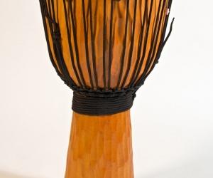 Carved Djembe 60 cm