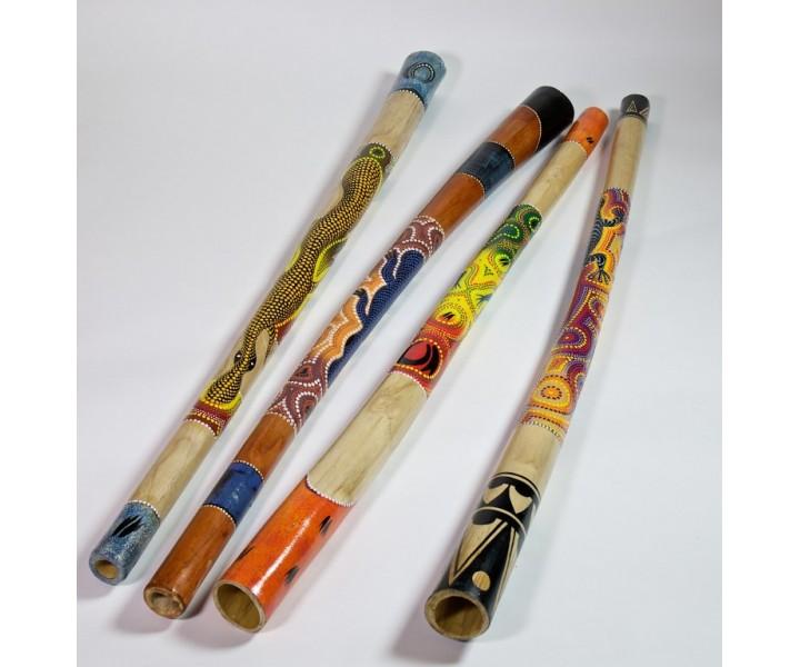 Wood didgeridoo