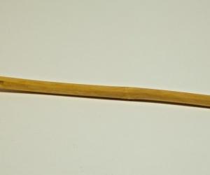 Wood Overtone Flute 45 cm decorated