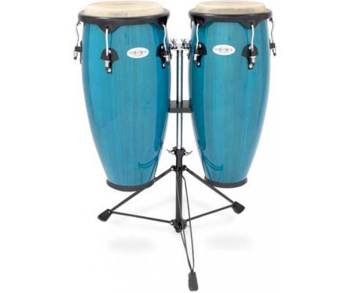 Congo set with stand blue