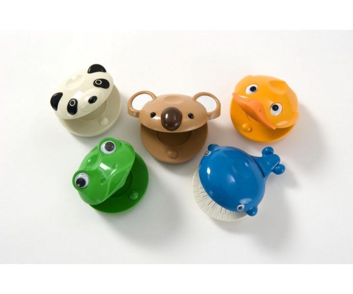 Plastic Animals Castanets