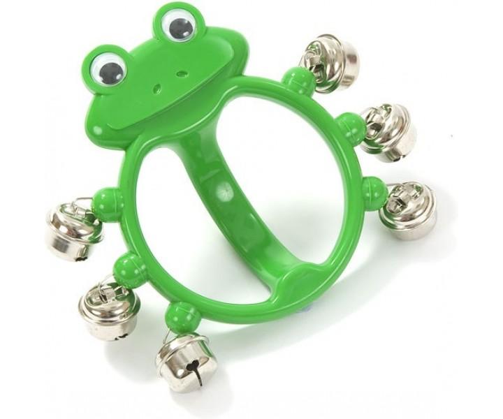 Plastic Hand Bells Green