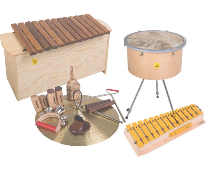 Orff Instruments large set