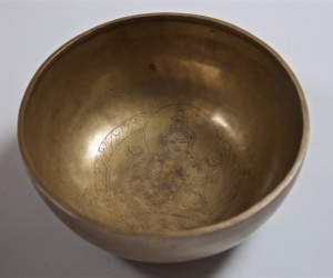 Decorated Bowl 1192g