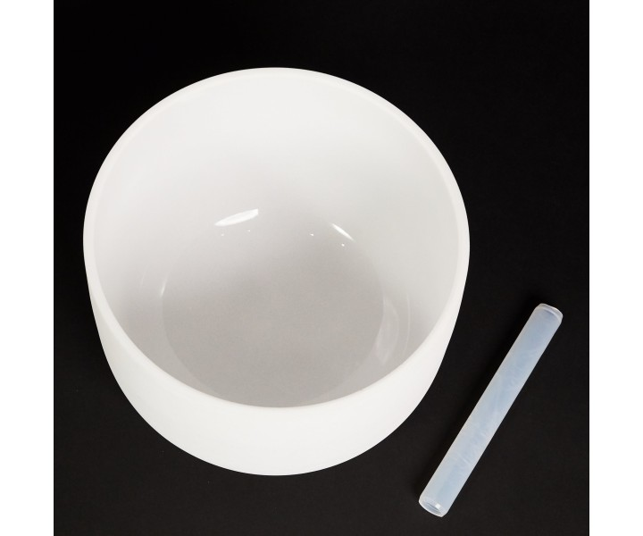 """White crystal bowl 33 cm D """"Water"""""""