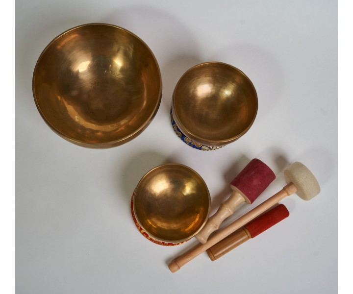 "Set of 3 bowls LN 84/3 - ""Sun"""