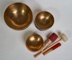 "Set of 3 bowls LN 96/3 - ""Water"""