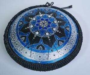 Guru drum Blue mandala