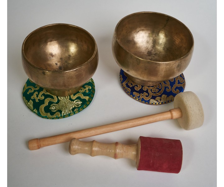 "Set of 2 bowls LN 28/2 - ""Earth-Sky"""