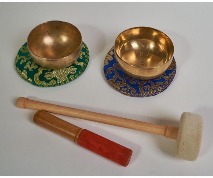 "Set of 2 bowls LN 78/2 - ""Rays"""
