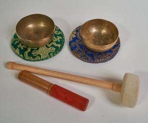 "Set of 2 bowls LNX11 - ""Third Eye"""