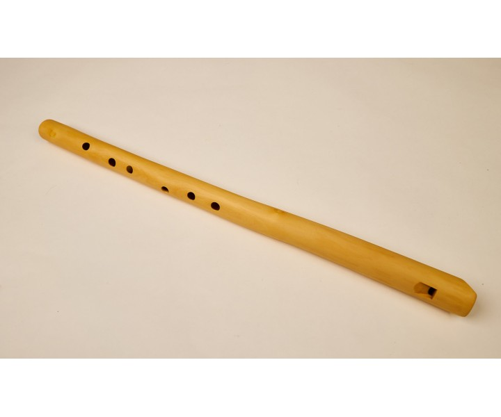 Meditation flute C elderberry wood