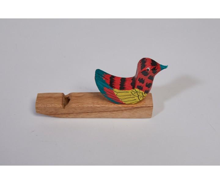 Bird whistle wooden