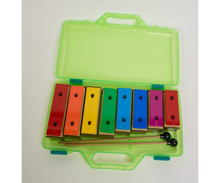 Diatonic Coloured Chime Bar Set in Case