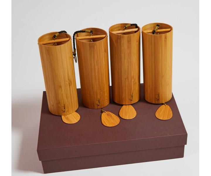 Set of 4 Koshi Chimes in a luxury box