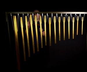 Large set of overtone meditation bells