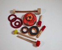 Accessories for singing bowls