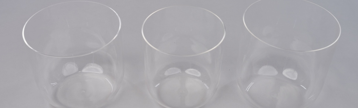 Transparent Crystal Bowls