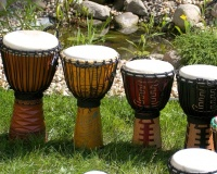 Natural Djembes
