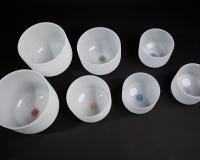 Harmonising crystal bowls sets