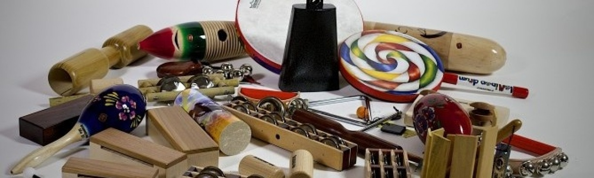 Modern percussion and shakers