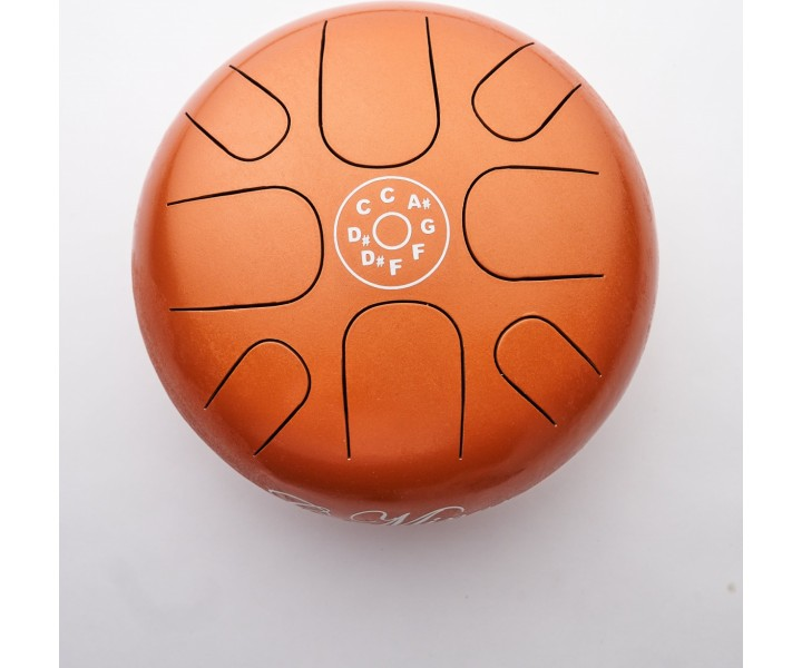 Happy drum small orange D minor