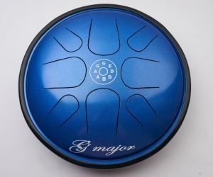 Happy drum Ufo blue G major