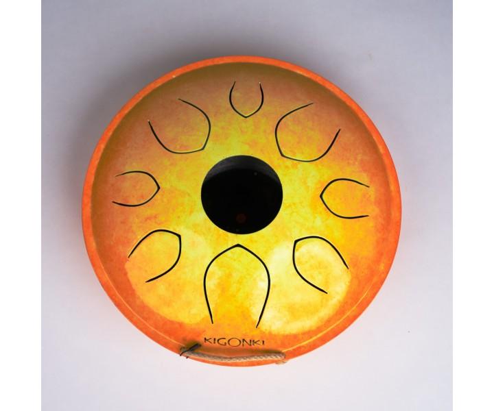 Kigonki Enki orange yellow C Major