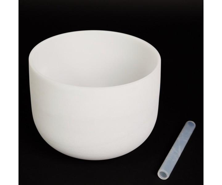 "White crystal bowl 30 cm low A ""third eye"""