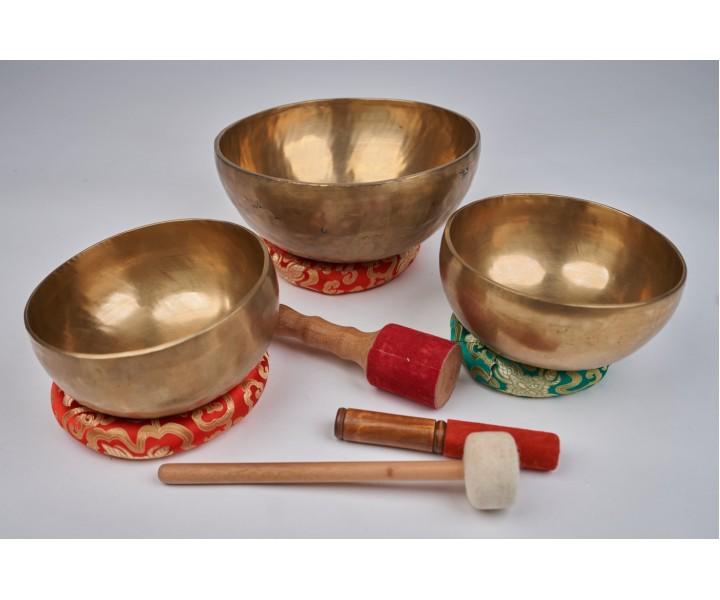 """Set of 3 bowls LN 93/3 - """"Deep light"""""""