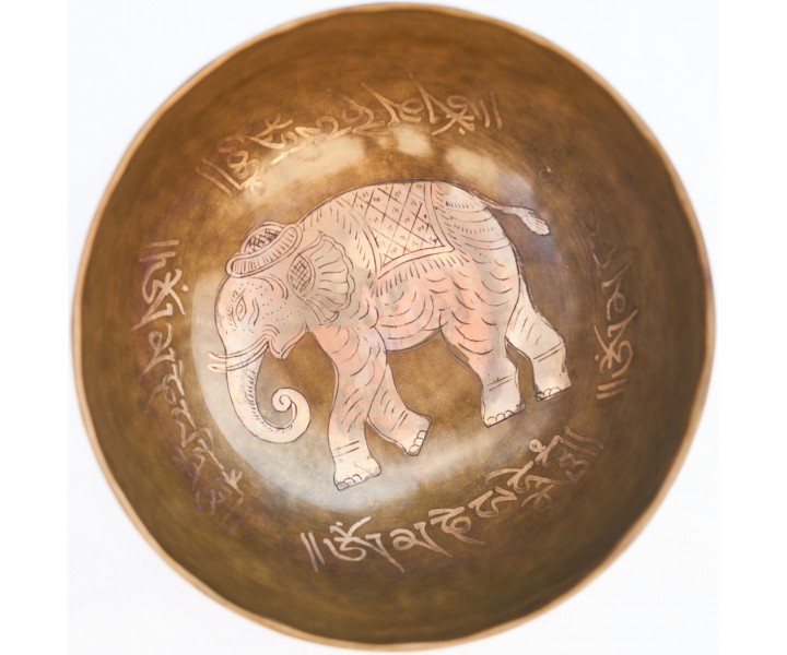 Decorated Bowl 1063 g