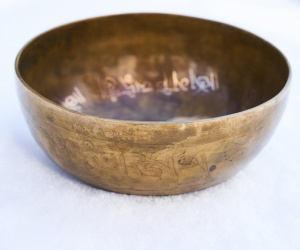 Decorated Bowl 1070g
