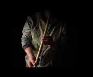 Overtone Flute D with aventurine