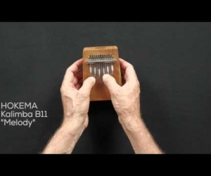 Video ukázka kalimba B11