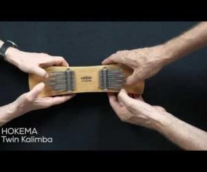 Video ukázka dvojitá kalimba