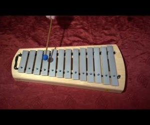 Soprano metallophone SM 1000