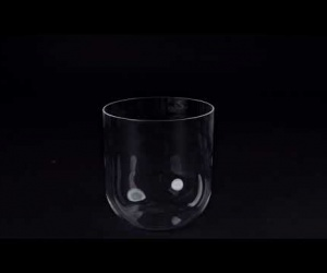 Transparent Bowl 18 cm