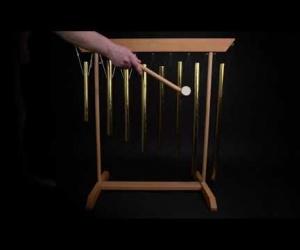 Small set of 8 meditation bells