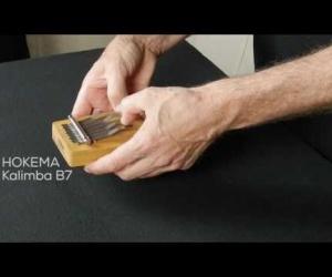 Video ukázka kalimba B7