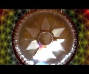 """Gong Fire 36"""", 90 cm"""
