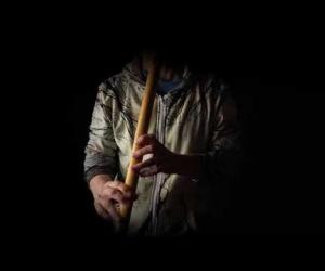 Meditation Flute C elderberry